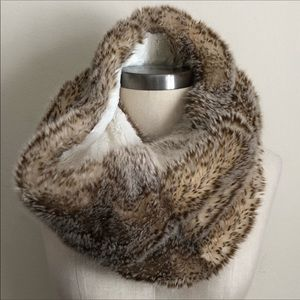 American Eagle Outfitters Faux Fur Infinity Scarf